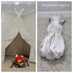 PVC Collapsible Teepee | Fun Family Crafts