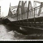 Fostul pod Decebal in anii Romania