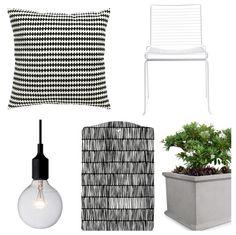 Via ScandiDecoration | Black & white Swedish apartment