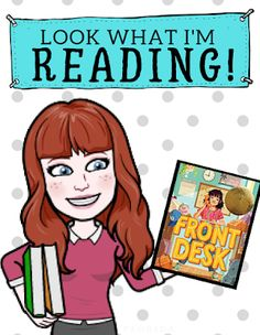 """The Library Voice: """"Look What I'm Reading"""" Bitmoji Posters School Library Decor, Library Rules, School Library Displays, Middle School Libraries, Elementary School Library, Library Skills, Library Lessons, Library Books, Reading Bulletin Boards"""