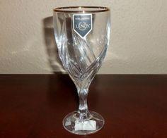 Lenox Debut Gold Iced Beverage Stem Glass, Clear