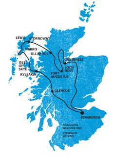 Scotland: Tour of the Western Isles, the Isle of Skye, and Loch Ness - might be cool to do, or replicate on my own!
