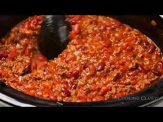 Slow Cooker Chili - Cooking Classy
