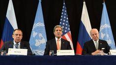 """سوريا: إتفاق روسي أمريكي على """"وقف المعارك"""" وإستئناف المفاوضات في """"أقرب وقت"""""""