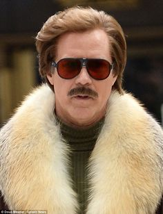 So fly: Ferrell in the depths of Ron Burgundy
