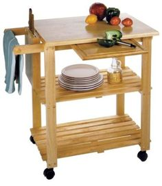 Beachwood mobile island for a small kitchen