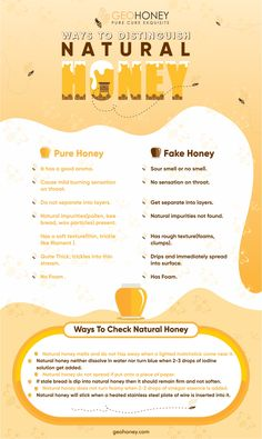 Find the best ways to verify natural honey. It is really important to know your honey is pure and natural or fake. Fake Honey, Natural Honey, Honey Bee Facts, Honey Mead, Honey Uses, Honey Store, Bee Hive Plans, Honey Label, Honey Benefits