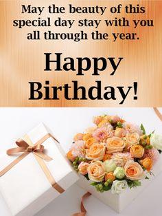 Spiritual Birthday Wishes, Happy Birthday Flowers Wishes, Happy Birthday Greetings Friends, Beautiful Birthday Wishes, Birthday Wishes For Friend, Happy Birthday Celebration, Happy Birthday Wishes Quotes, Birthday Wishes And Images, Birthday Blessings