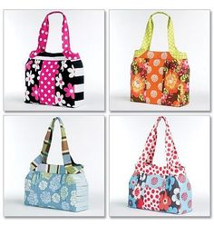 Free Patterns: all sorts of free bag patterns