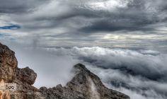 Zwischen den Wolken by juergen-kramer. Please Like http://fb.me/go4photos and Follow @go4fotos Thank You. :-)