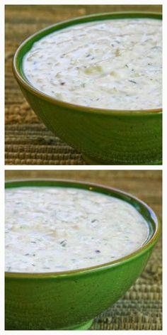 World's Best Tzatziki Sauce Recipe - Greek Yogurt and Cucumber Sauce [from Kalyn's Kitchen]