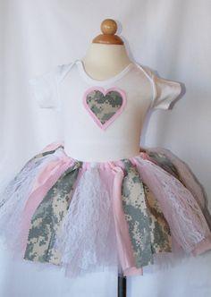 pink n army camo dress