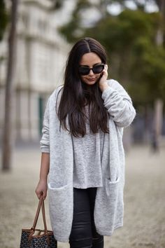 Style To My Street | Long Cardigan