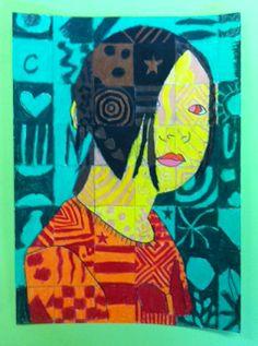Princess Artypants: Visual Arts in the PYP Chuck Close Art, Chuck Close Portraits, High Art, Jr High, Pop Art Images, School Art Projects, School Ideas, 8th Grade Art, Arts Ed