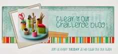Clear it Out Challenge Blog - Theme: Crazy for Polka Dots, Stash: Polka Dots (paper, embellishments, etc.)