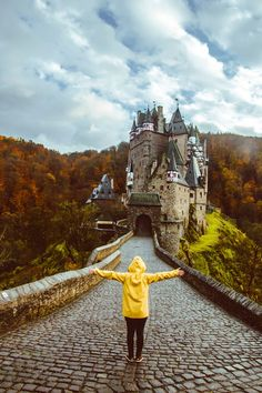 Eltz Castle located above the Moselle River between Koblenz and Trier in Germany. #Eltz #BurgEltz #EltzCastle #Castle #Castles #Germany