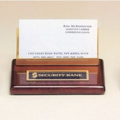 Our Business Card Holder features a gold business holder, black name plate, and a piano finished rosewood board. Item 542 measures x in size. Gold Business Card, Business Card Holders, Business Cards, Desk Plaques, Desk Name Plates, Piano, Free, Gold Accents, Gift Boxes
