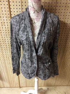 Ruff Hewn Women s Gray Marbled Cotton Long Sleeve Button Cardigan Sweater  XL  RuffHewn  Cardigan  anyOccasion 31e3352f2