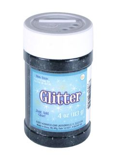 Add sparkle and glitz to any arts and crafts project with this #glitter!  Comes in a 4 oz. jar in a variety of colors (sold #separately).  Non-toxic.