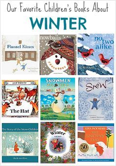 Our favorite children's books for winter! ~ BuggyandBuddy.com