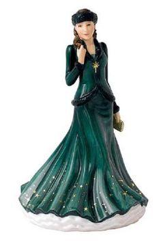 Royal Doulton - Pretty Ladies 2015 Songs of Christmas, O Holy Night.