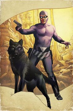 The Phantom #2 Cover by Wilfredo Torres and Ron Salas
