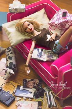 Breakup Barbie...with a pig