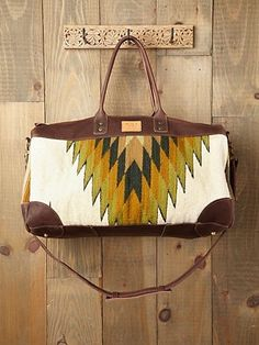 WILL Bags Oaxacan Weekender at Free People Clothing Boutique - StyleSays