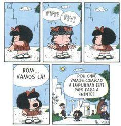 Tirinhas da Mafalda #quadrinho