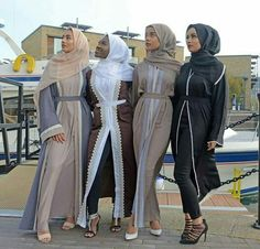 This Elegant muslim outift ideas for eid mubarak 58 image is part from Elegant Muslim Outfits Ideas for Eid Mubarak gallery and article, click read it bellow to see high resolutions quality image and another awesome image ideas. Islamic Fashion, Muslim Fashion, Modest Fashion, Hijab Fashion Summer, Dubai Fashion, Abaya Fashion, Fashion Fashion, Hijab Dress, Hijab Outfit