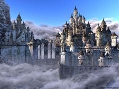 Top 10 Mythical Places You Want To Live In Listverse Fantasy landscape Fantasy city Fantasy castle