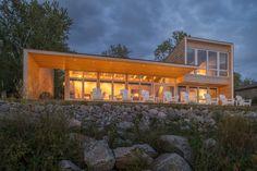Дом на берегу озера в Канаде — HQROOM