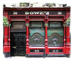 Bowes Dublin - Click pub photo image above to purchase your #Pubs of #Ireland Photo Print with PayPal. You do not need a PayPal account to purchase photo. Pubs of Ireland photos are perfect to display in any sitting room, family room, or den to celebrate a family's Irish heritage. $9.00 (plus $5 shipping & handling in USA)