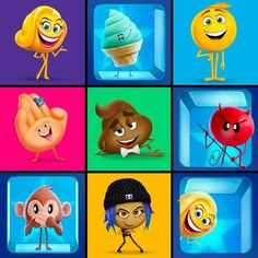 Happy World Emoji Day, Movie Fans! If you were an emoji in The @emojimovie, what would you be? We would be: