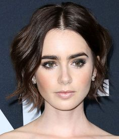 Lily Collins at the 2016 Saint Laurent at the Palladium event in Los Angeles on February 10, 2016