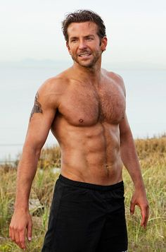 Yes, and Bradley Cooper!  <3 his abs!