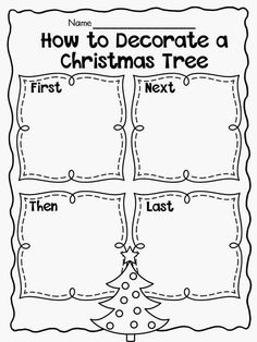 December Writing Freebies (Primary Chalkboard) Hi Friends! It's Latoya of Flying into First Grade! I am here to bring you some writing ideas for the month of December!These are great freebies that can be used to practice many types of writ … Kindergarten Writing, Teaching Writing, Writing Activities, Writing Ideas, Literacy, Kindergarten Christmas, Speech Activities, Therapy Activities, Essay Writing