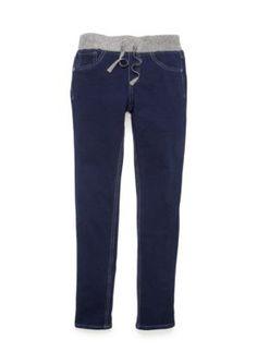 JK Indigo Vivienne Glitter Waist Knit Jeans Girls 7-16