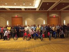 Sixty engineers from around the world came together for their yearly meeting. The ballroom was set with giant tic-tac-toe boards, pac man stations, and a massive inflatable skee ball booth. But the main attraction of the evening was a Build-A-Bike ® team building event. The spirited group...
