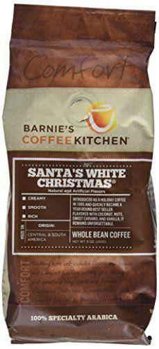Barnie's CoffeeKitchen Whole Bean Coffee, Santa's White Christmas, 9 Ounce Barnie's CoffeeKitchen http://www.amazon.com/dp/B00X83MV9Y/ref=cm_sw_r_pi_dp_-zLZwb1APG8RE