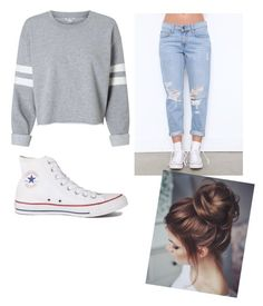 """yasss"" by heavenlycole on Polyvore featuring Converse"