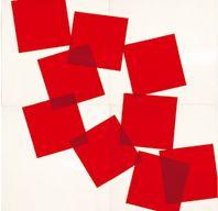 MUSEUM RITTER - Vera Molnar Dispersés par le vent au large 2002
