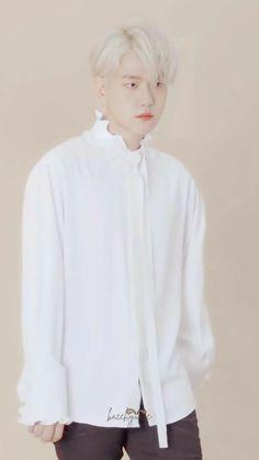 Baekhyun Wallpaper, Chanbaek, Ruffle Blouse, Asian, Cute, Tops, Smile, Women, Kawaii