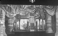 Egyptian scenery at Thalian Hall in 1909