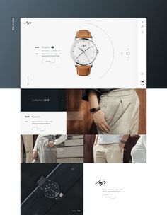 Behance is the world's largest creative network for showcasing and discovering creative work Email Design, Ad Design, Layout Design, Graphic Design, Website Layout, Web Layout, Watch Websites, Luxury Website, Amazing Website Designs
