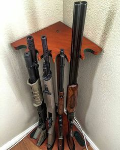 Corner Gun Rack                                                                                                                                                                                 More