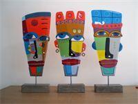 glass masks, Yvonne Veen use RL design for base *idea for Leslie