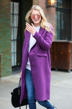 When in Doubt, Let a Colorful Coat Do the Talking