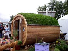 Why not create a garden pod to add some living space without the need for an extension? Sky Garden can add an attractive roof to blend your pod into your garden, or as an eye-catching centre piece.