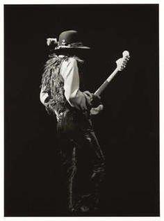 Jimi Hendrix. Rare photo.  Photographer: Steve Banks.